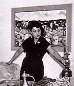 Sima Banou, PariserKunstmalerin und persische Prinzessin