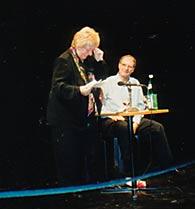 Margarete Hannsmann undSerge Ehrensperger imZürcher SchauspielhausDezember 1994